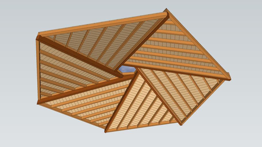 roof reciprocal beams 2