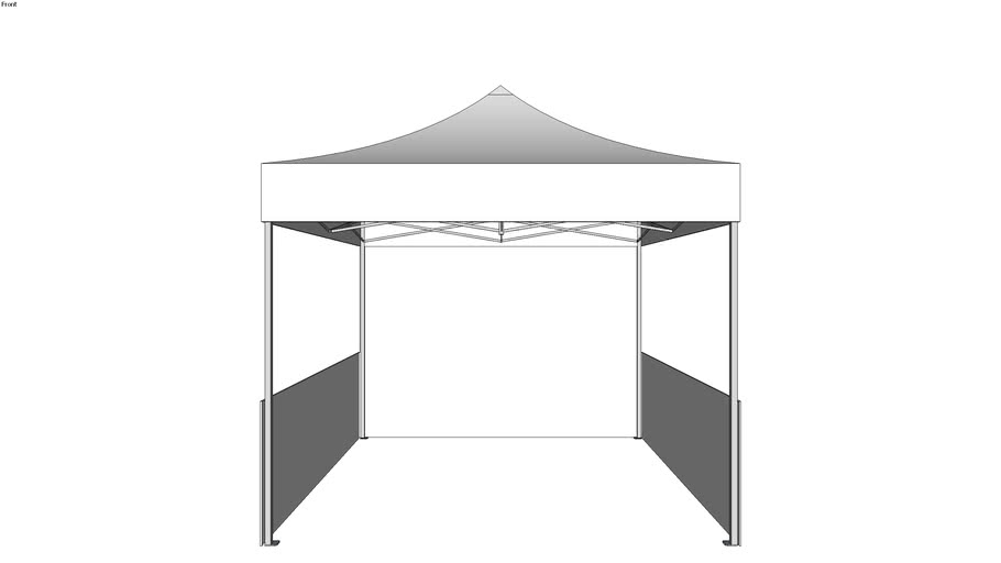 10 X 10 Pop Up Tent 3d Warehouse