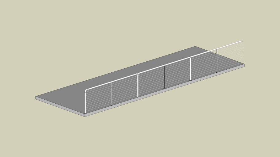 Ultra-Tec Cable Railing | 3D Warehouse