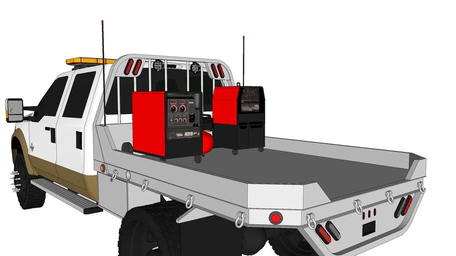 Ford F350 Lariat Welding/Work Truck