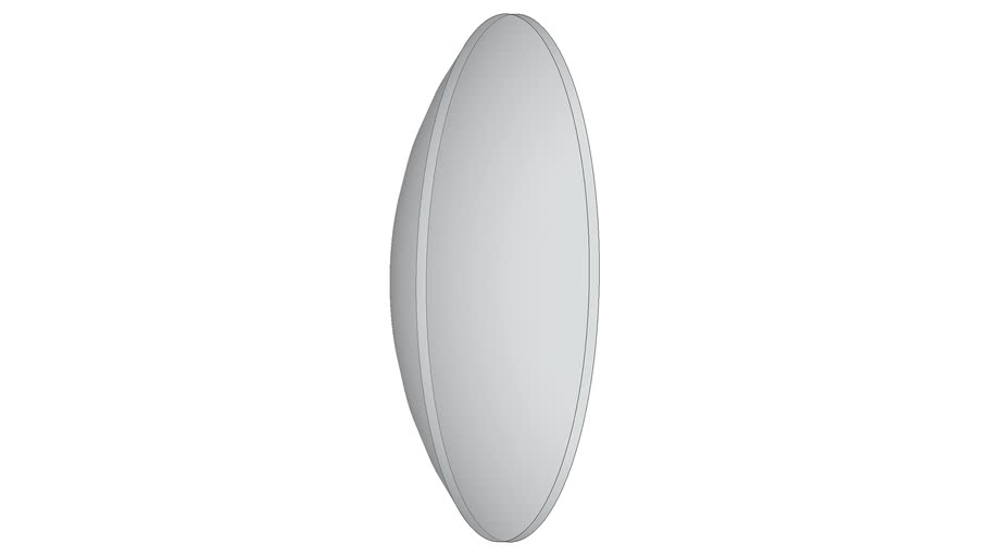Big convex lens