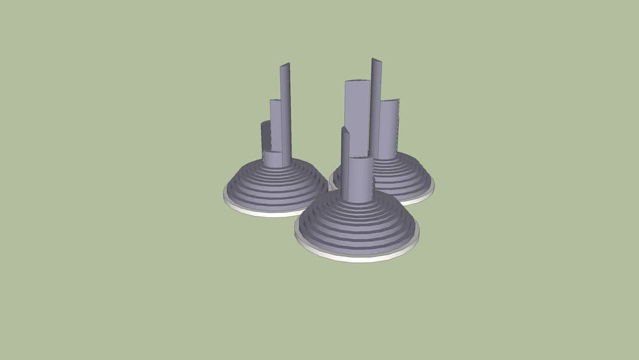 Small set of monuments