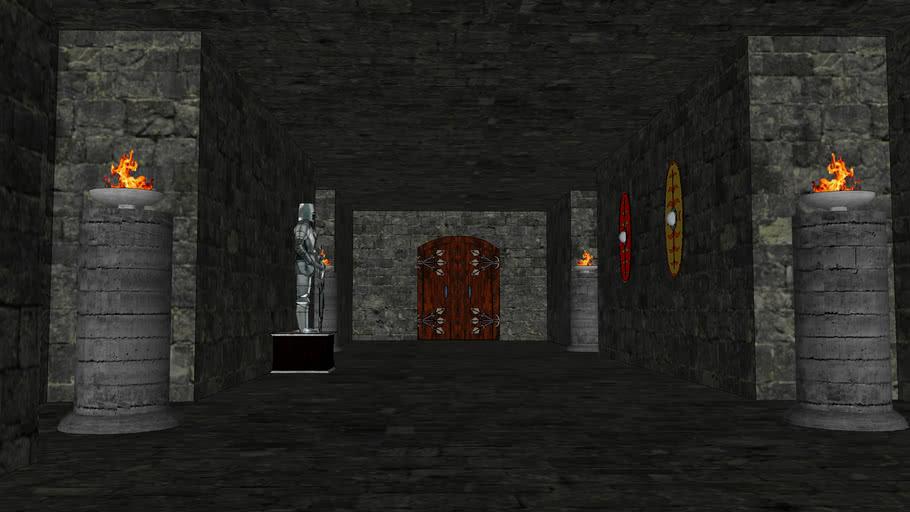 Corredor de Dungeon