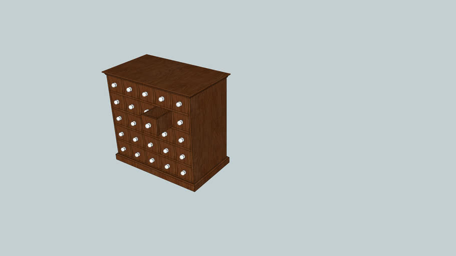 25 Drawer pharmacy Cabinet