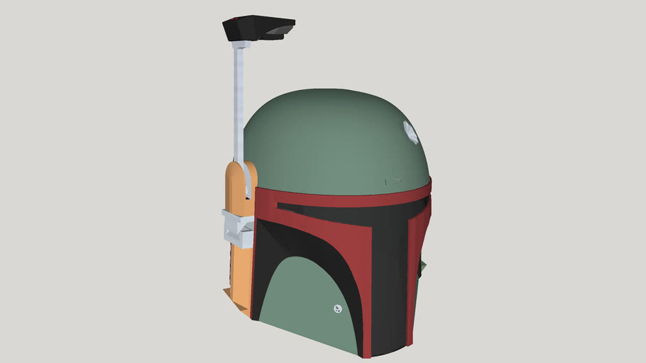 Boba Fett Helmet - Dented version