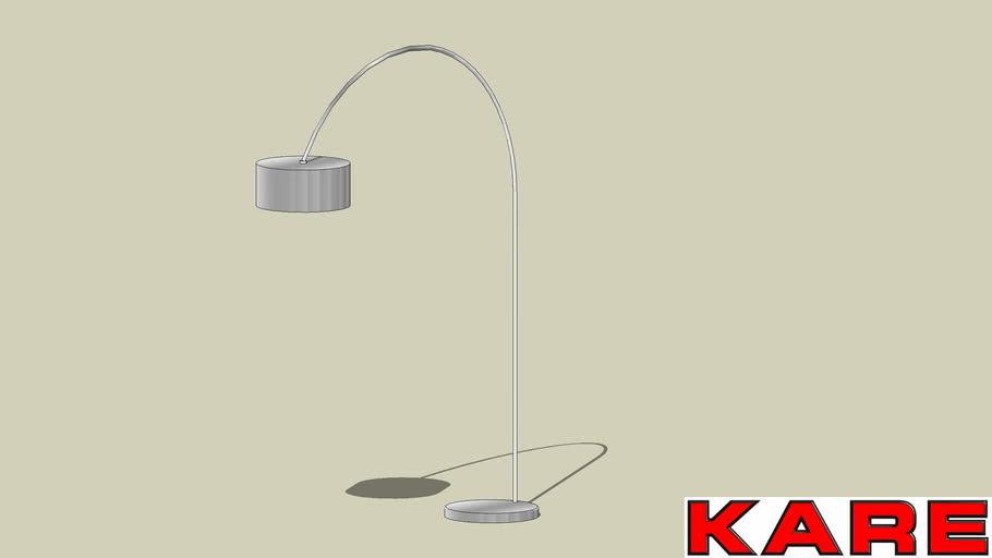 30218 Floor Lamp Gooseneck Chrome (SL Gooseneck Chrome)