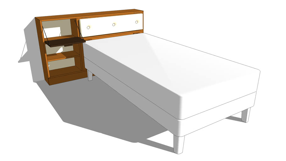 20 – Bedhead Cabinet – Single Bed
