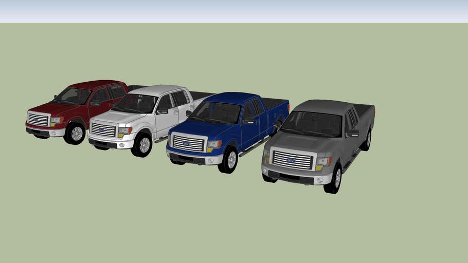 2009-2014 Ford F150 XLT Models