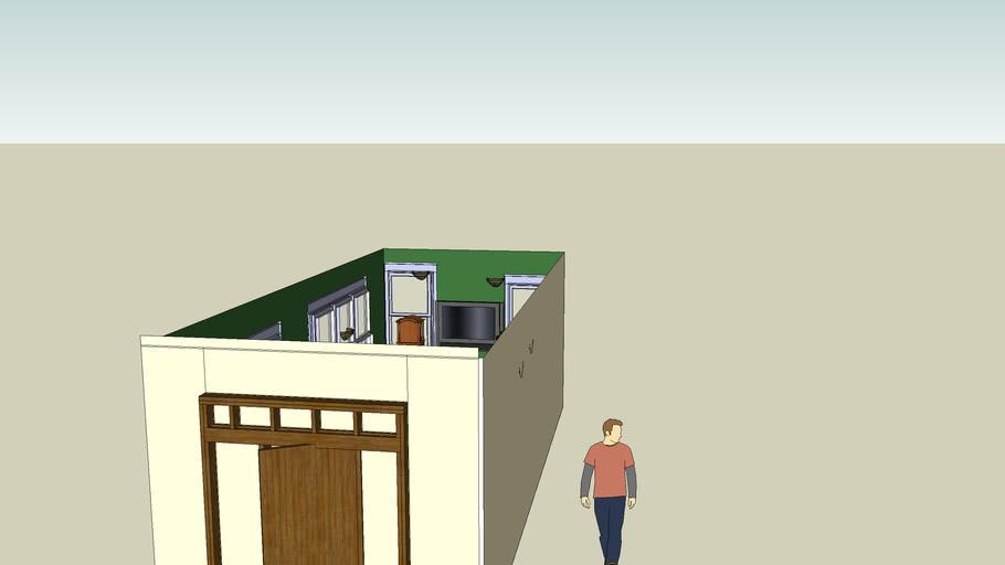 go green!l .living room