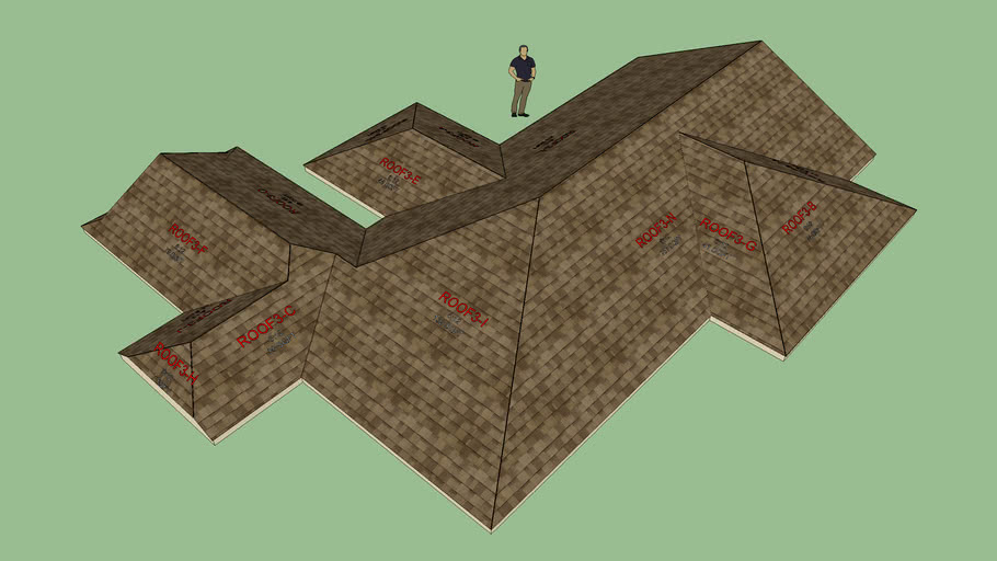 Complex Roof Test 6
