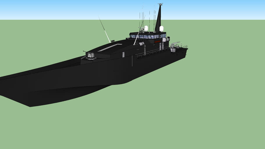 Royal Navy Stealth Armidale Class Patrol/Detroyer ship.