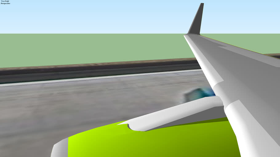 Flash Airways (2012) - Boeing 737-800 Rolling in 25 Runway, Denver, USA.