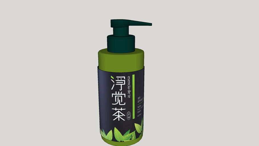 茶油碗盤清潔液   Tea seed oil dishes cleaning fluid