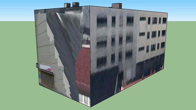 Building Gibitzenhofstraße in Nuremberg, Germany