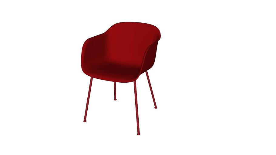 Fiber chair - tube base - by Muuto - design by Iskos-Berlin