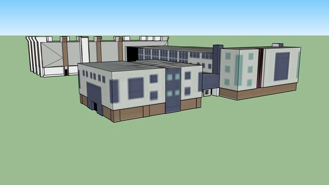 ECE Building & Microelectronics Center & Faculty Memorial Hall & Tiernan Hall