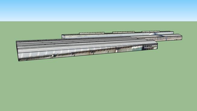 Train repair facility in Madrid, Spain (module 1)
