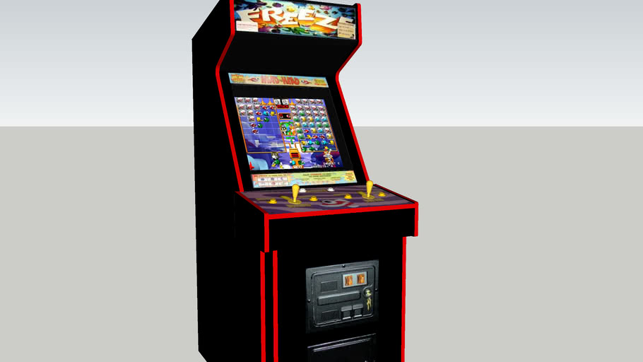Freeze arcade game