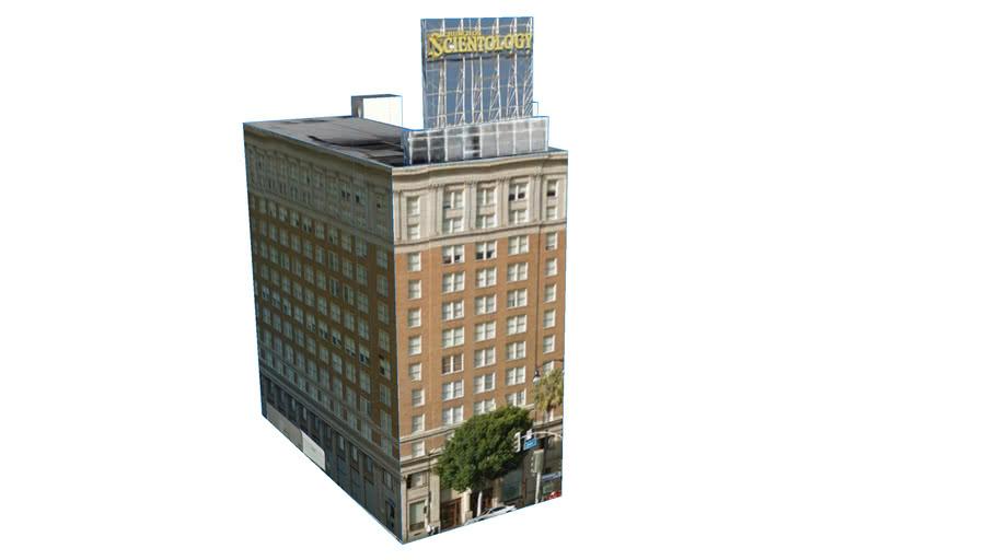 Building in Los Angeles, CA, USA