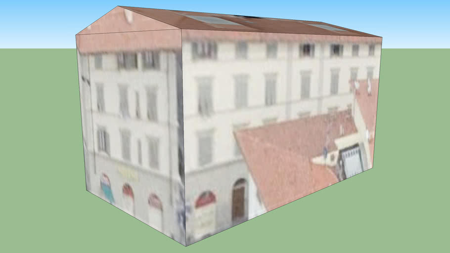 Bygning i Firenze, Italien