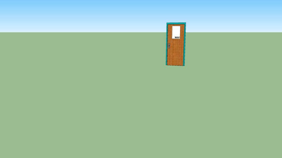 RWA - Room 206 - Server Door