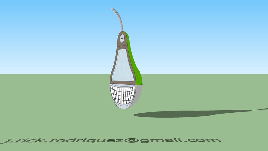 Pear Pod Ergonomic Mobile Phone