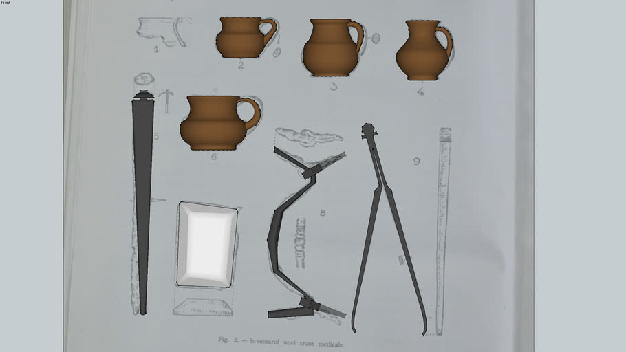 Dacian medical kit