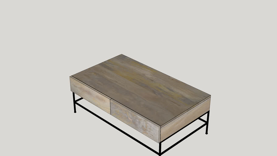 San Diego Coffee Table with Drawers