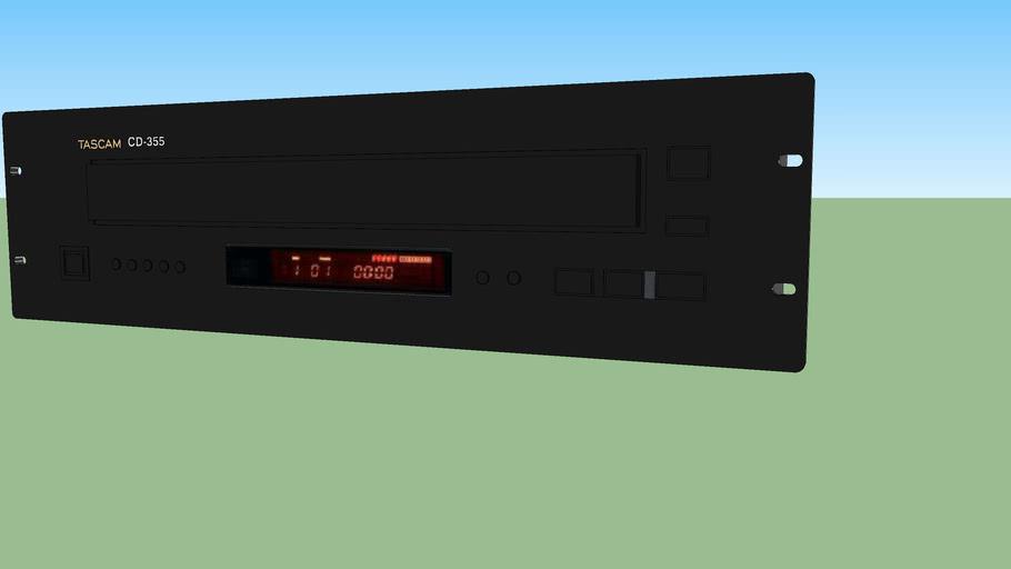 Tascam CD-355 rack mount 5-CD changer