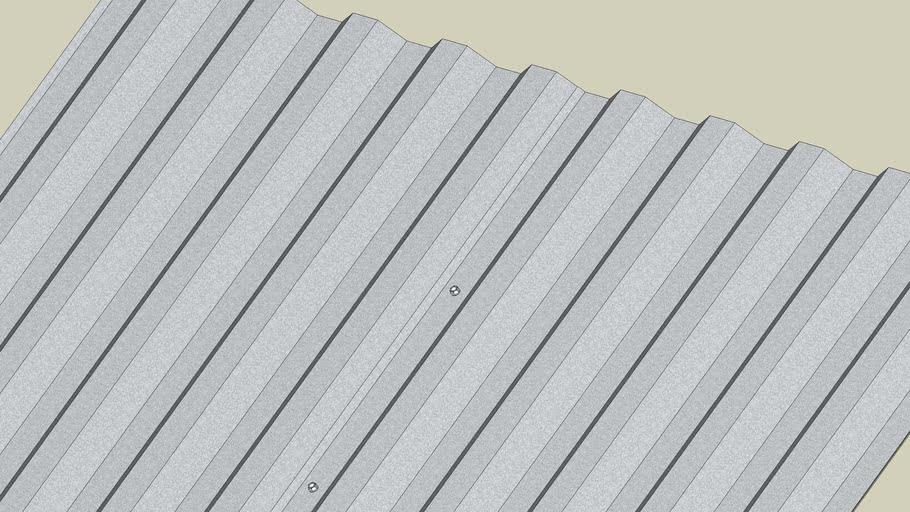 "7.2"" Rib - Profile Metal Panels"