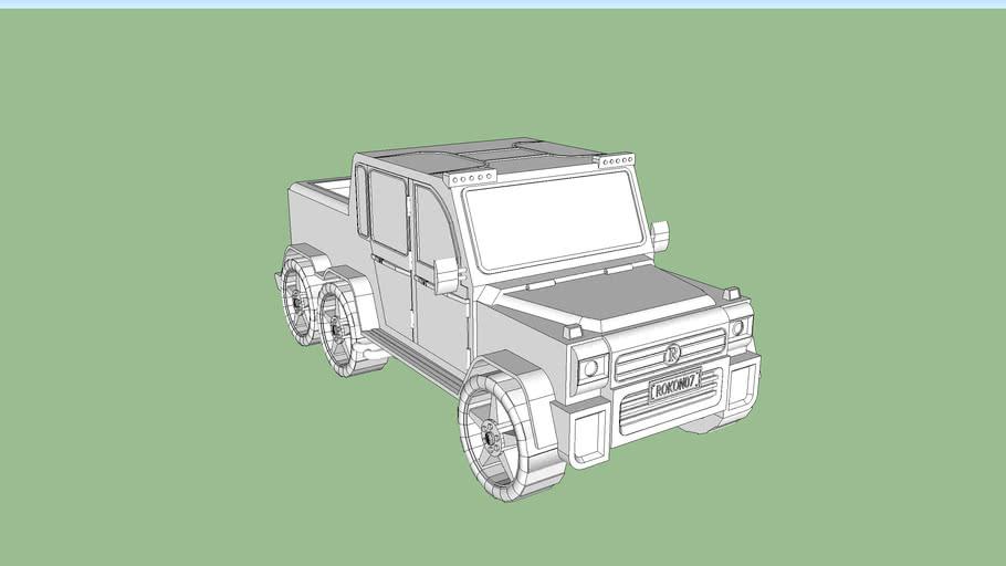 G63 6*6 inspired model