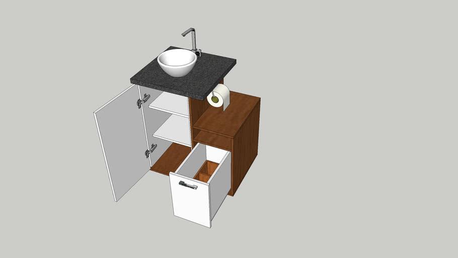 Movel banheiro pequeno
