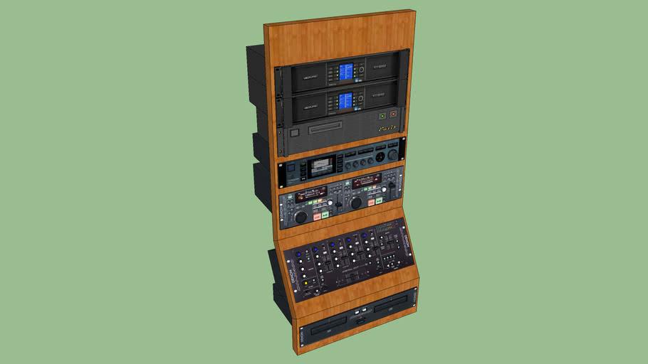 Soundstation for bar.