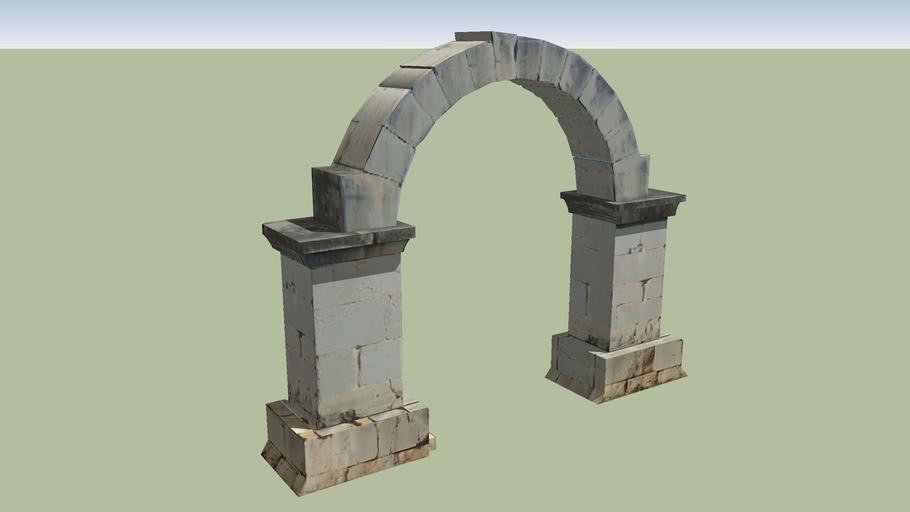 Arco romano de Cabanes. Castellón. España