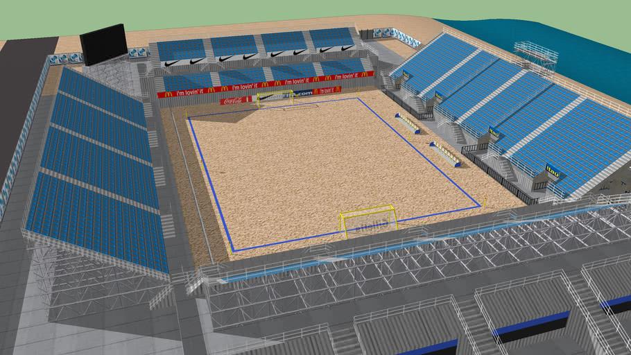 Ñeños bay Beach Soccer Arena 2013