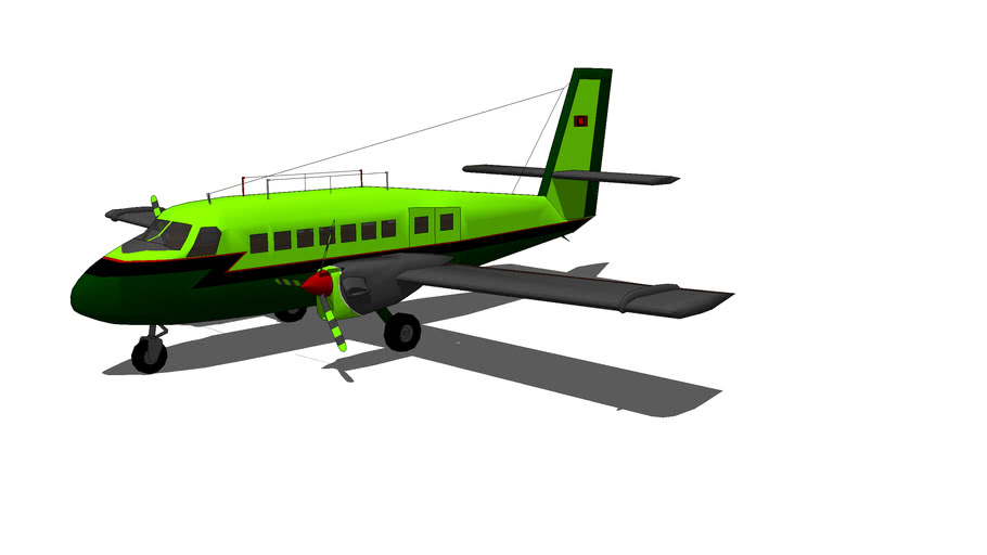 green DHC-6