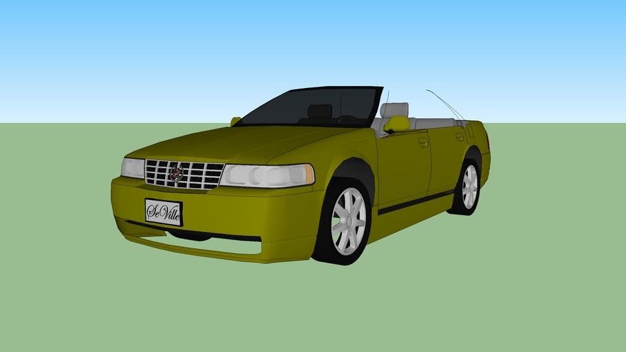 modified cadillac seville