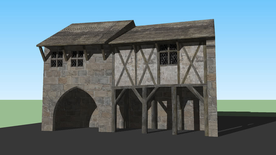 15th century French houses