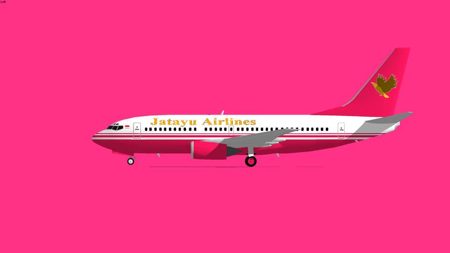 Jatayu Airlines Boeing 737-300 2