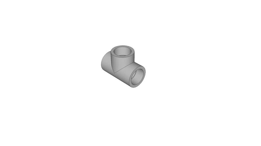 AGRU_13056004007_PPR rot_T-Stueck_40 - MOP 20 bar_130