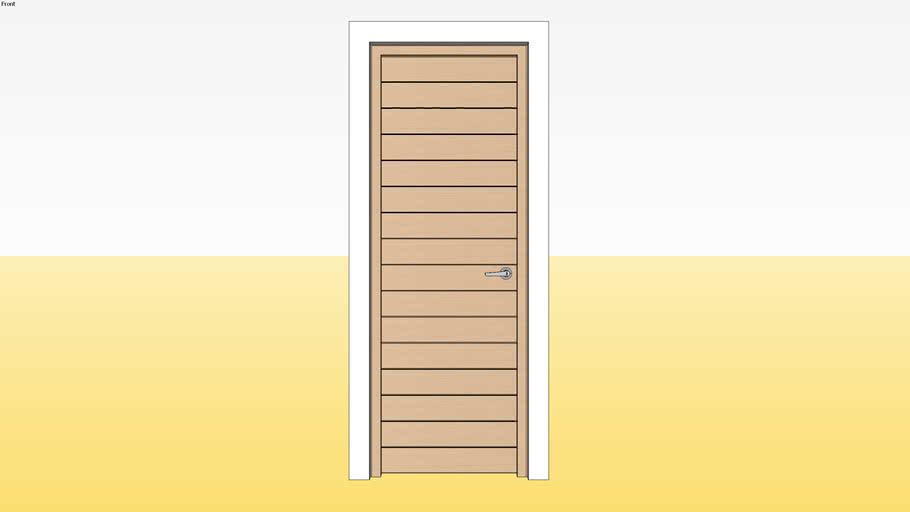 Panel Door D8 700 x 2100 Jamb 4