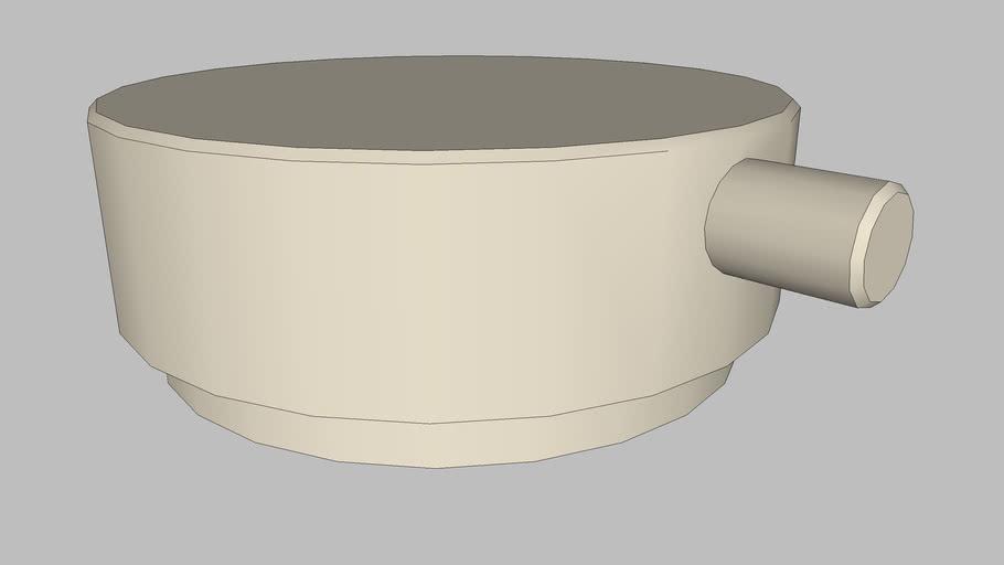 DOCOL - Acionamento de torneira para banheiro Conexões Espontâneas níquel jateado