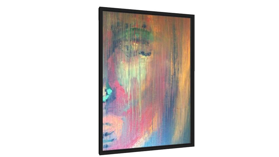 Quadro Face borrada  - Galeria9, por Leticia Lisboa