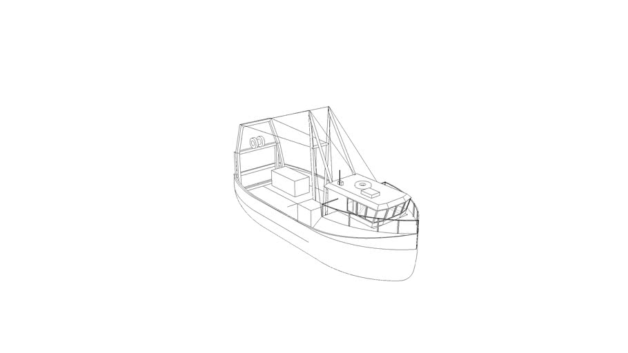 Simple Fishing Boat