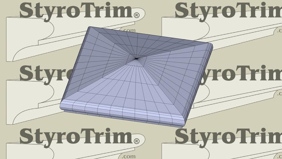StyroTrim Post Caps