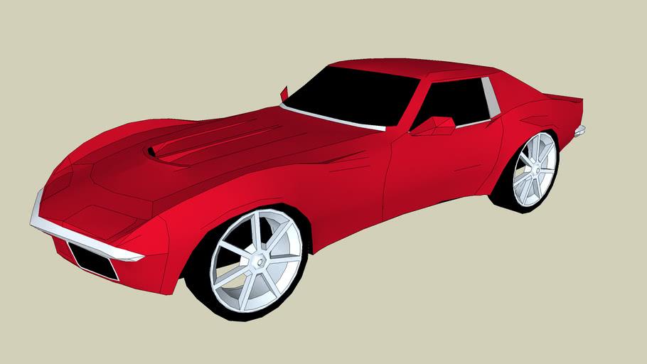 modified corvette stingray