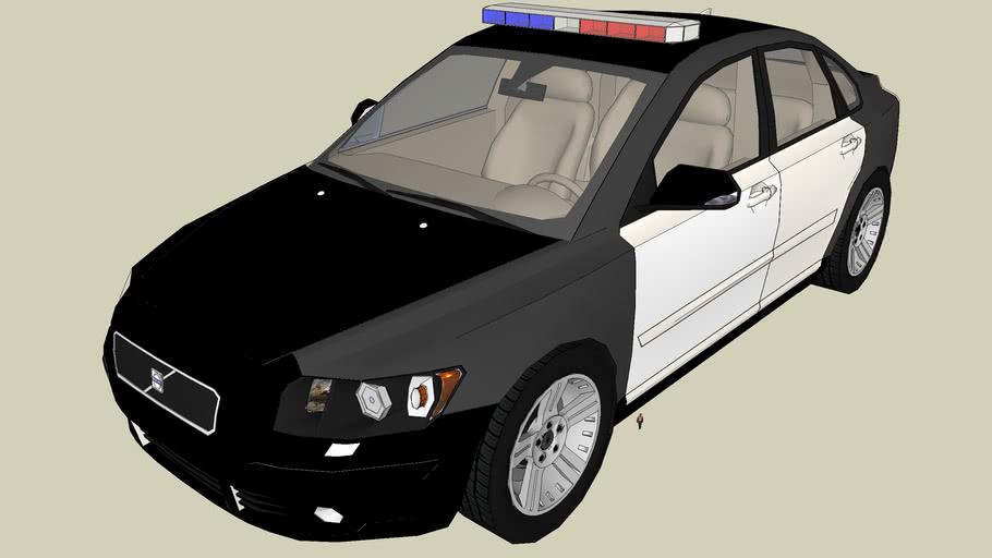 Volvo S40 Police Car