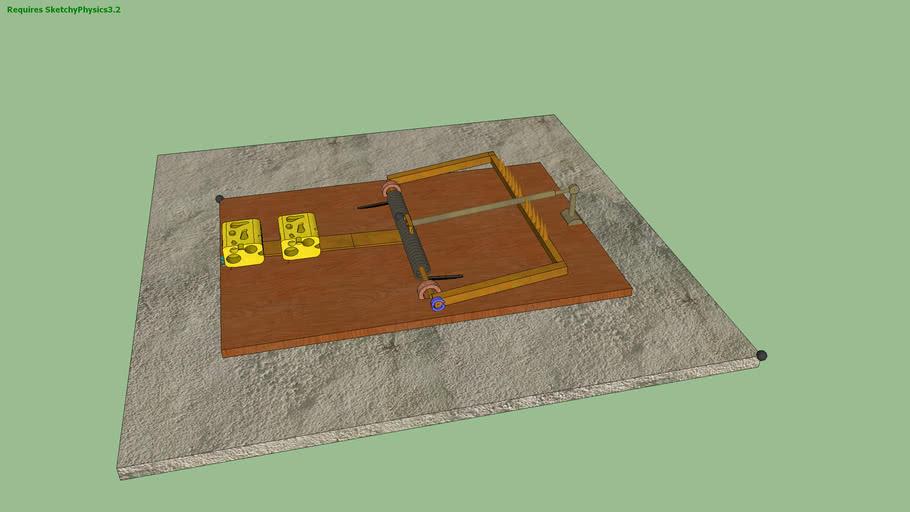 trappola per topi funzionante sketchPhysics