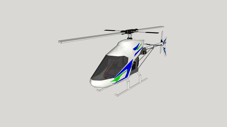 KYOSHO Concept 46 VR R/C Helicopter
