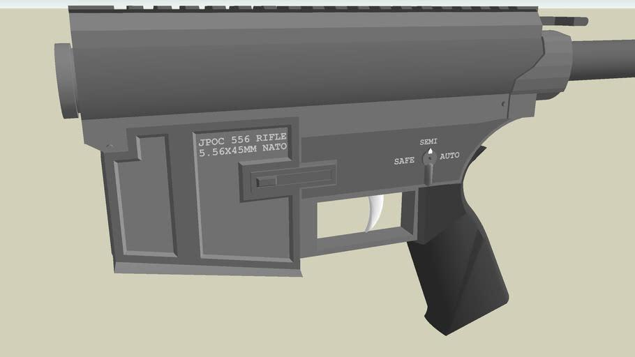 JPOC 556 Rifle Reciever